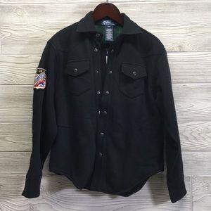 New Boys Sz S/8 Fashionable & Warm Button Shirt